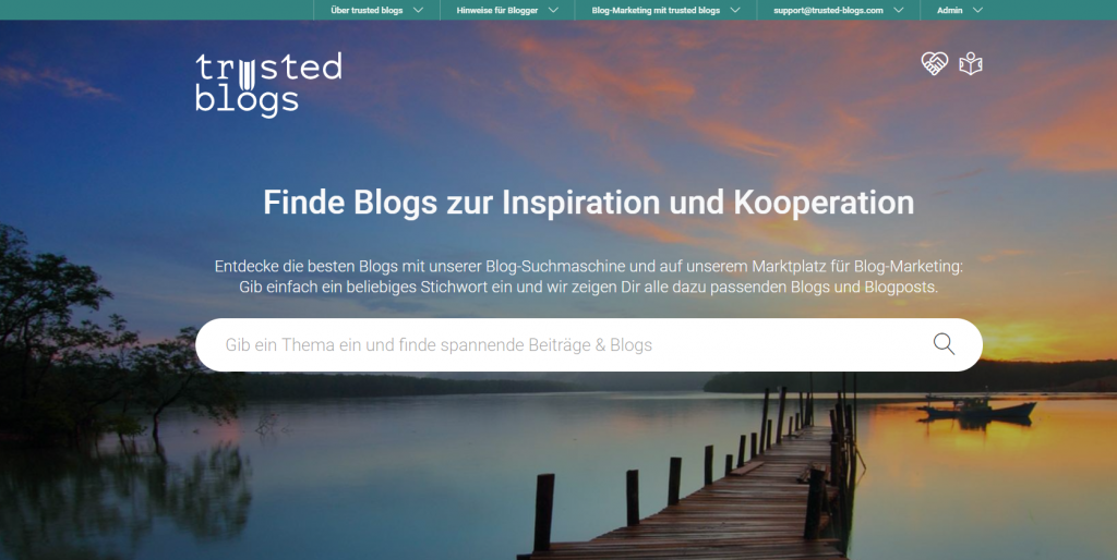trusted-blogs.com: Blog-Suchmaschine und Marktplatz für Blog-Marketing